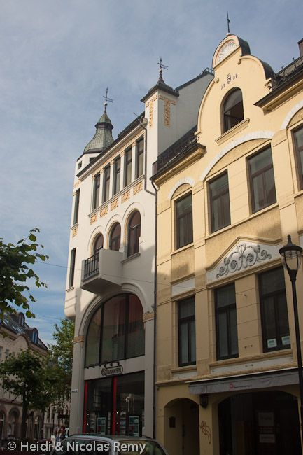 Art Nouveau à Ålesund