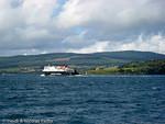 Ferry CalMac dans le Sound of Mull